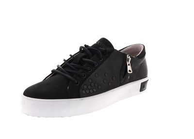 BLACKSTONE Damenschuhe - Sneaker ZIPPER STUD PL77 black