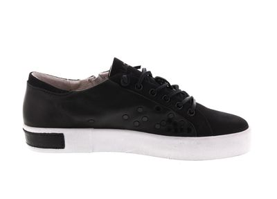 BLACKSTONE Damenschuhe - Sneaker ZIPPER STUD PL77 black preview 4