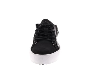 BLACKSTONE Damenschuhe - Sneaker ZIPPER STUD PL77 black preview 3