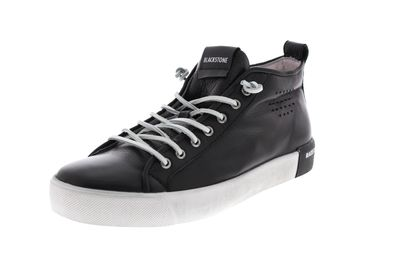 BLACKSTONE in Übergröße - Mid-Cut-Sneaker PM42 - black