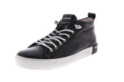 BLACKSTONE in Übergröße - Mid-Cut-Sneaker PM42 - black