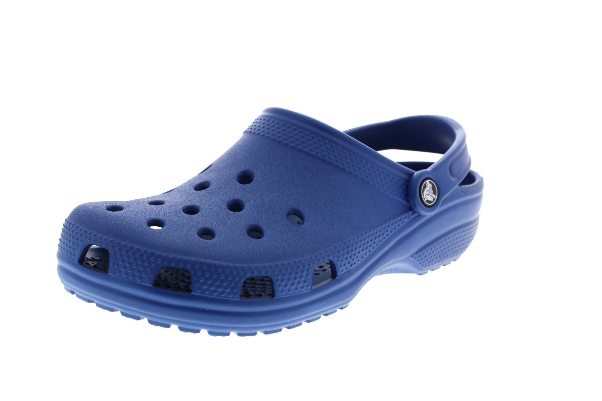 CROCS Schuhe in Übergrößen Clogs CLASSIC blue jean