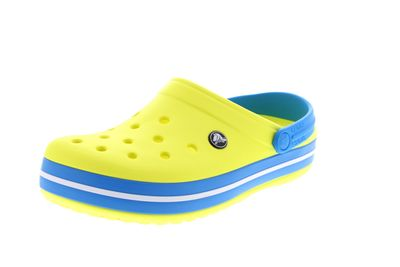 CROCS Schuhe - Clogs CROCBAND - tennis ball green ocean