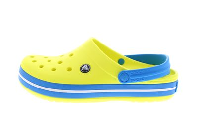 CROCS Schuhe - Clogs CROCBAND - tennis ball green ocean preview 2