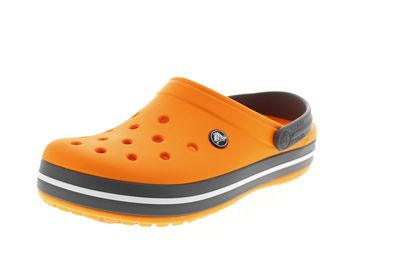 CROCS Schuhe - Clogs CROCBAND blazing orange slate grey
