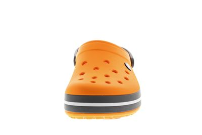 CROCS Schuhe - Clogs CROCBAND blazing orange slate grey preview 3