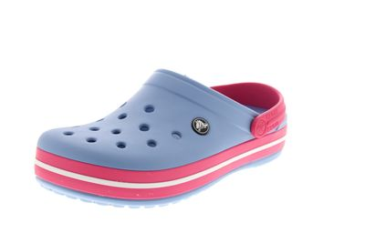 CROCS - Clogs CROCBAND - chambray blue paradise pink
