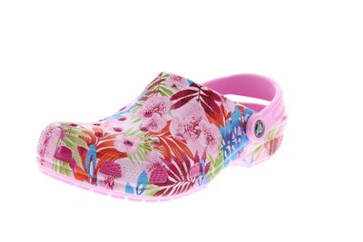 CROCS - Clogs CLASSIC GRAPHIC - carnation candy pink
