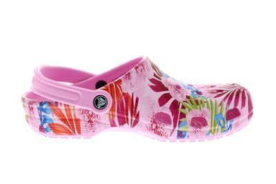 CROCS - Clogs CLASSIC GRAPHIC - carnation candy pink preview 4