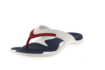 CROCS in Übergröße - MODI SPORT FLIP white navy pepper