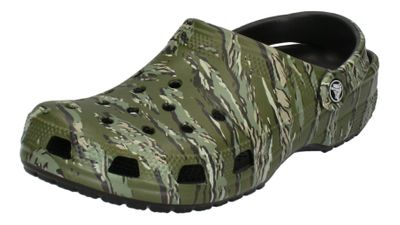 CROCS Schuhe - Clogs CLASSIC GRAPHIC - black camo