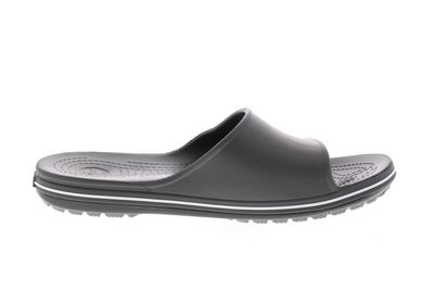 CROCS Pantoletten CROCBAND II SLIDE - slate grey white preview 4