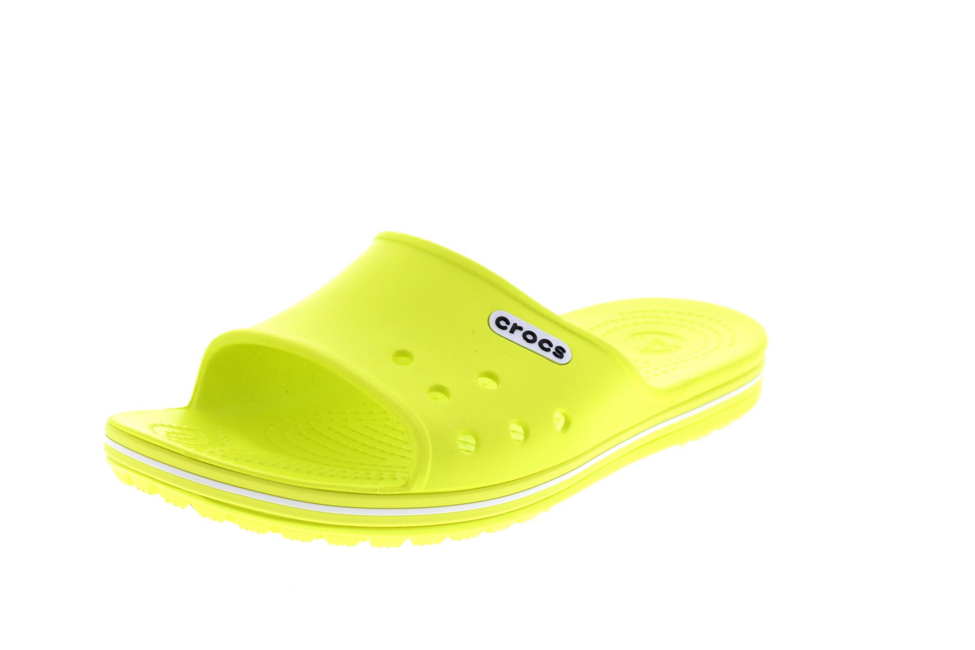 Crocs sandali CROCBAND II Slide TENNIS PALLA Green