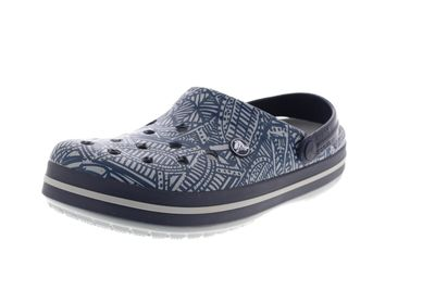 CROCS Schuhe - CROCBAND GRAPHIC CLOG - light grey navy