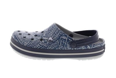 CROCS Schuhe - CROCBAND GRAPHIC CLOG - light grey navy preview 2