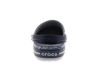 CROCS Schuhe - CROCBAND GRAPHIC CLOG - light grey navy preview 5
