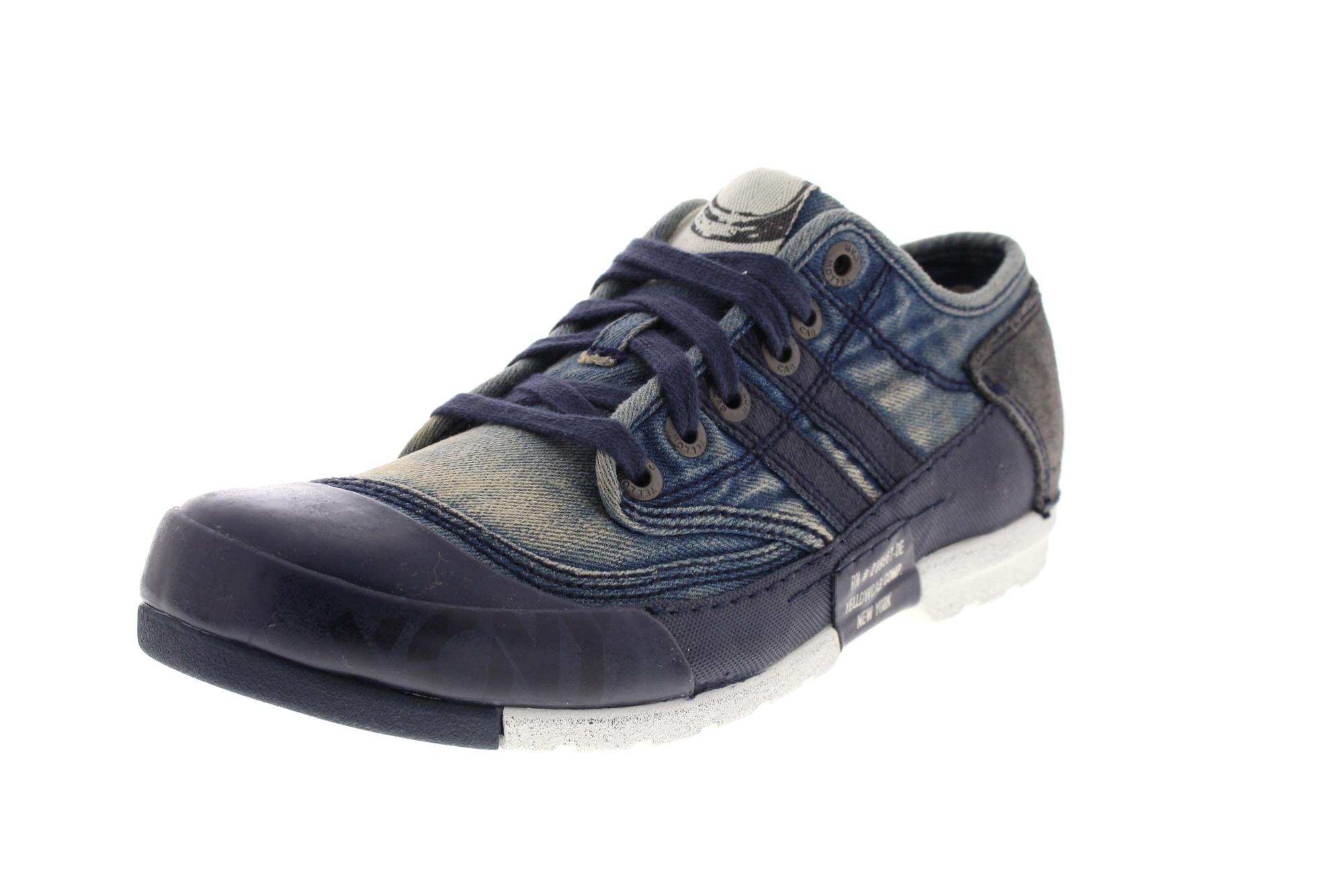 YELLOW CAB Herrenschuhe - Sneakers MUD M 12255 - blue_0