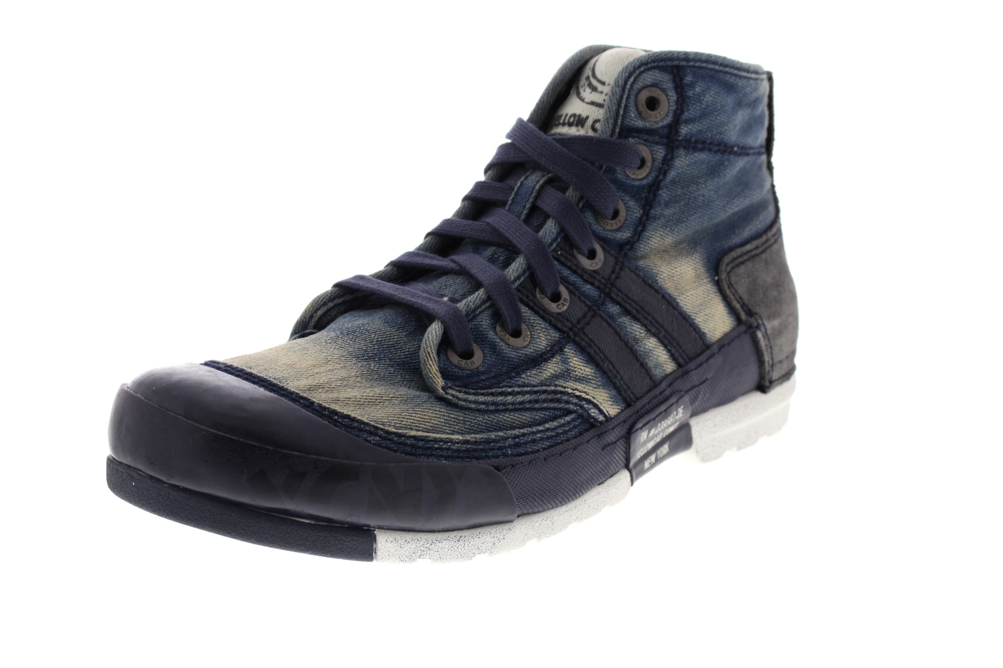 YELLOW CAB Herrenschuhe - Sneakers MUD M 15463 - blue_0