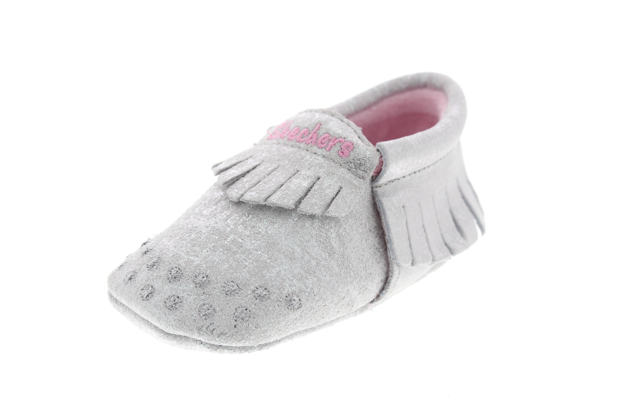 SKECHERS Baby - 89283 Lil Crawlers Curious One - silver_0