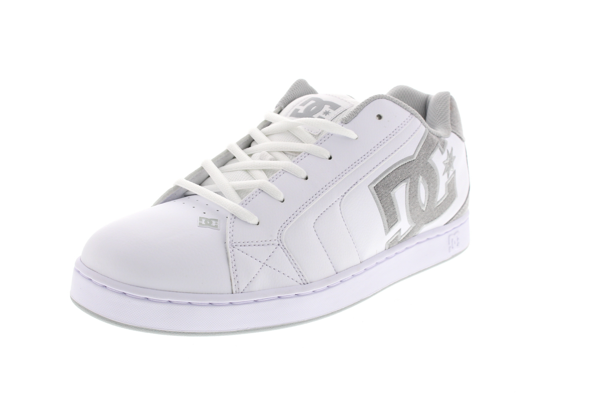 DC Sneakers in Übergröße NET SE 302297 white light grey