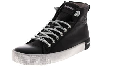 BLACKSTONE Damenschuhe - Hi-Cut-Sneakers PL70 - black