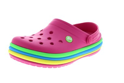 CROCS - Clogs CROCBAND RAINBOW BAND - candy pink