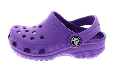 CROCS Kinderschuhe - Clogs CLASSIC KIDS - neon purple preview 2