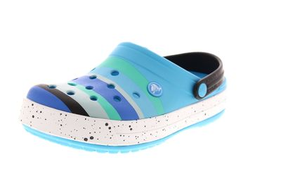 CROCS Damenschuhe - CROCBAND COLOR BURST Clog - ocean