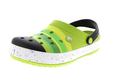 CROCS - CROCBAND COLOR BURST Clog - grass green black