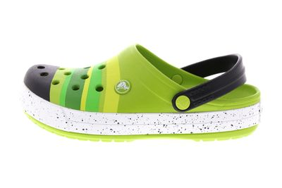 CROCS - CROCBAND COLOR BURST Clog - grass green black preview 2