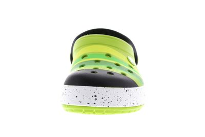 CROCS - CROCBAND COLOR BURST Clog - grass green black preview 3