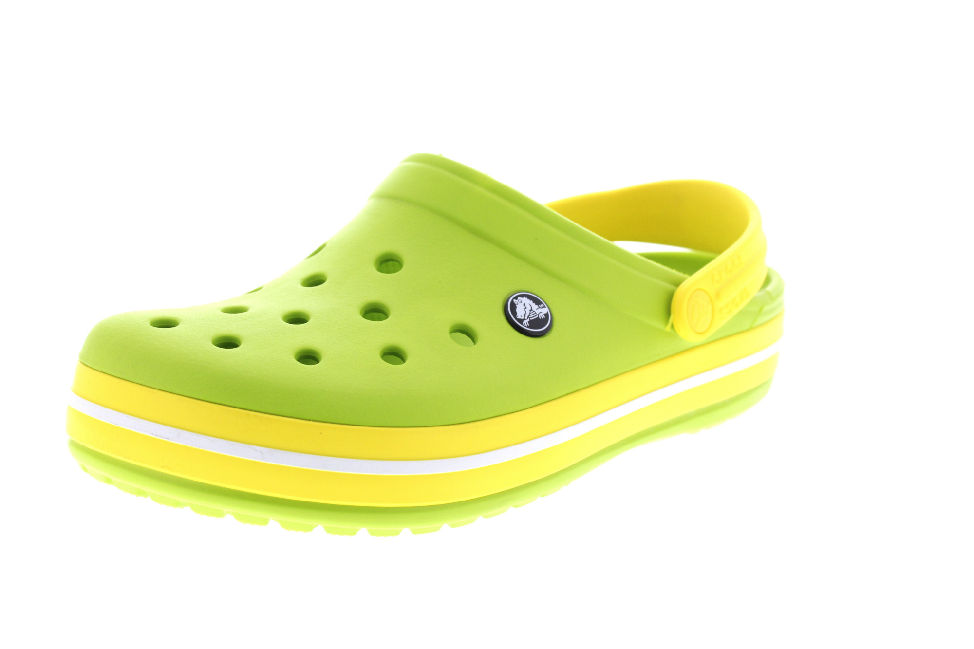 CROCS Schuhe - Clogs CROCBAND - volt green lemon0-6512
