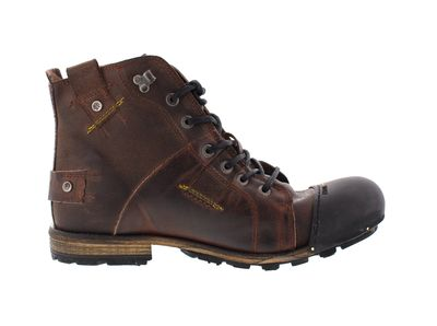 YELLOW CAB - Boots INDUSTRIAL - 15012 - dark brown preview 4