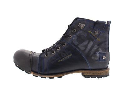 YELLOW CAB Herrenschuhe - Boots INDUSTRIAL 15012 - blue preview 2
