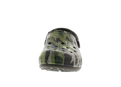 CROCS - CLASSIC LINED GRAPHIC - dark camo green black preview 3