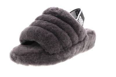 UGG Damenschuhe - Slide FLUFF YEAH 1095119 - charcoal preview 1