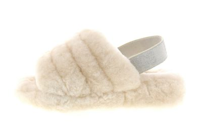 UGG Damenschuhe - Slide FLUFF YEAH 1098793HBX - cream preview 2
