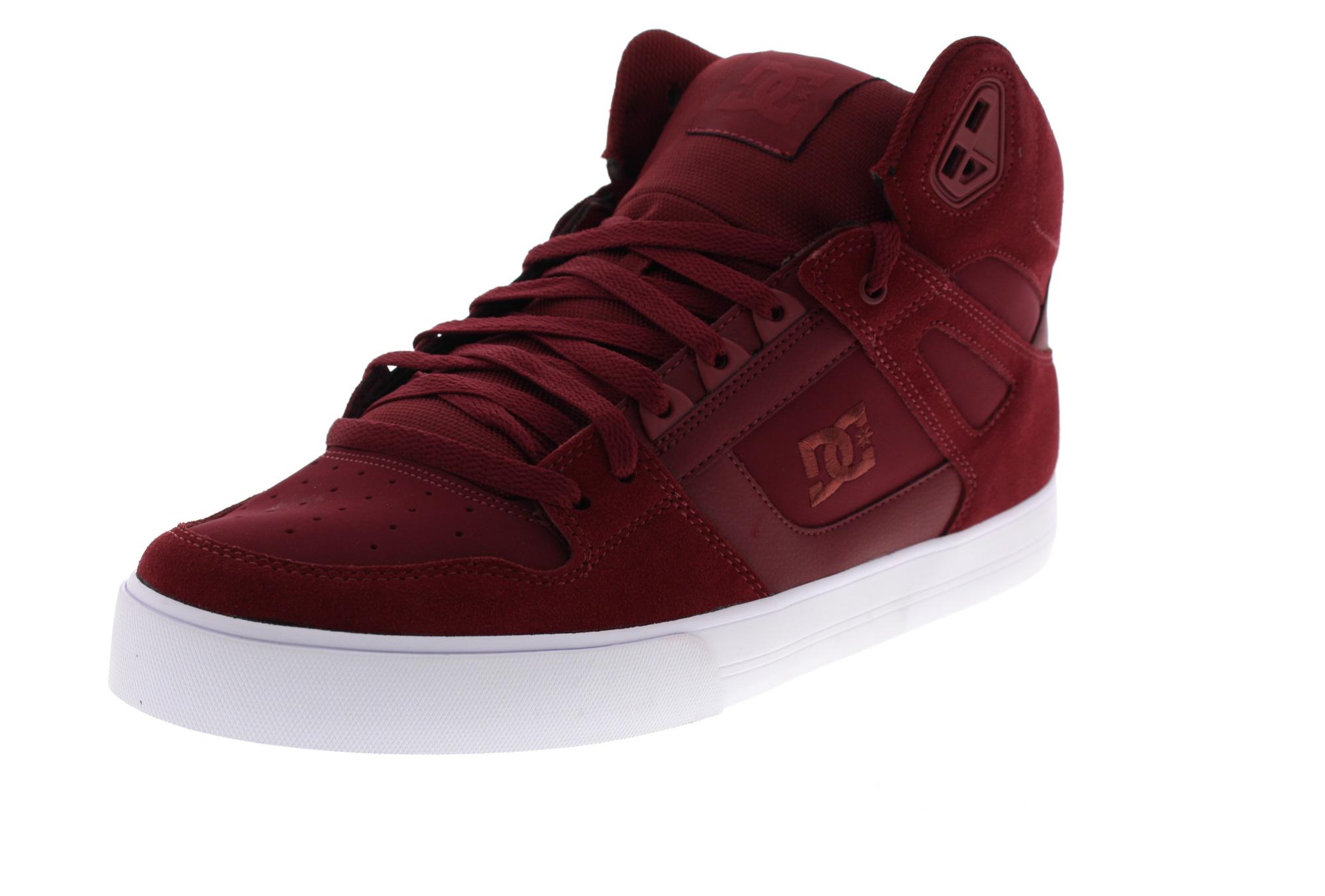 DC Sneakers in Übergrößen - PURE HIGH-TOP WC - burgundy