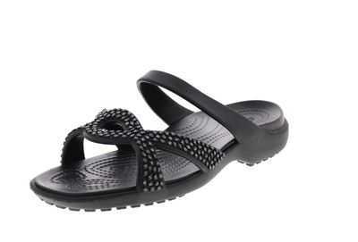 CROCS reduziert - MELEEN TWIST DIAMANTE SANDAL - black preview 1