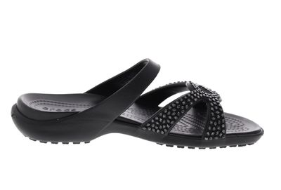 CROCS reduziert - MELEEN TWIST DIAMANTE SANDAL - black preview 4