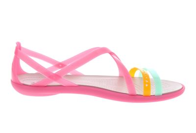 CROCS - ISABELLA CUT STRAPPY Sandal - paradise pink preview 4