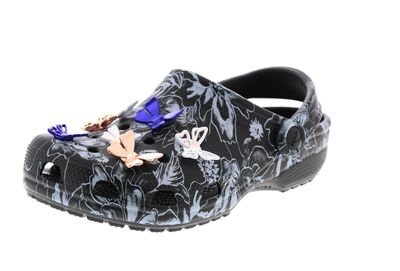 CROCS reduziert CLASSIC BOTANICAL BUTTERFLY CLOG black preview 1