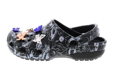 CROCS reduziert CLASSIC BOTANICAL BUTTERFLY CLOG black preview 2