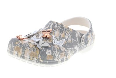 CROCS reduziert CLASSIC BOTANICAL BUTTERFLY CLOG grey preview 1