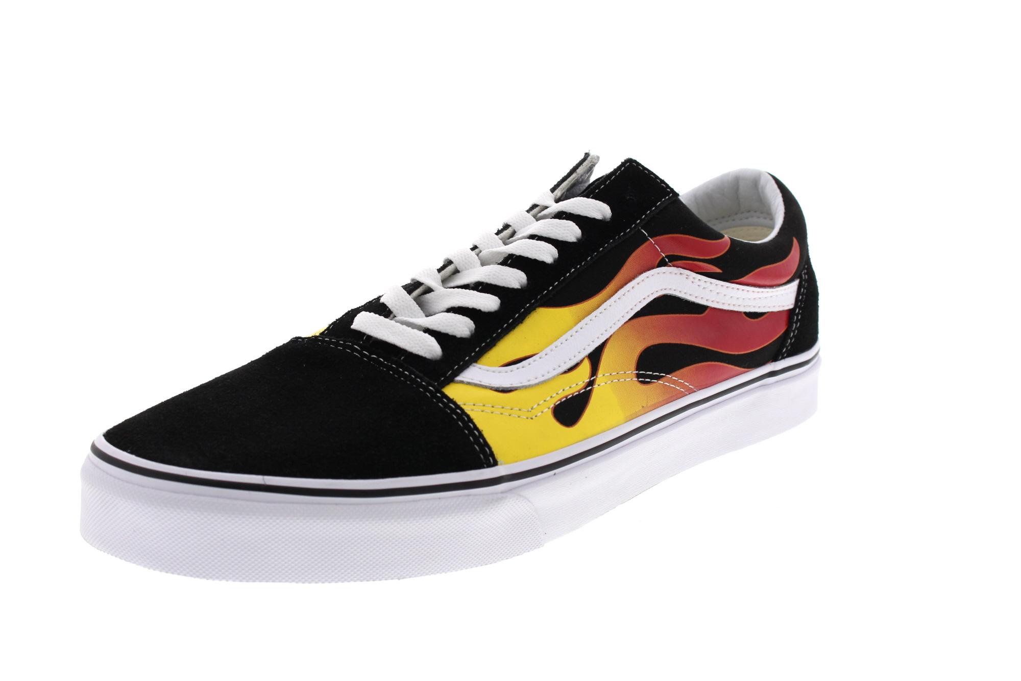 VANS Sneakers  in Übergrößen - OLD SKOOL - Flame black
