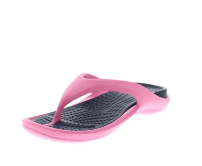 CROCS Schuhe - Zehentrenner ATHENS - pink lemonade navy preview 1