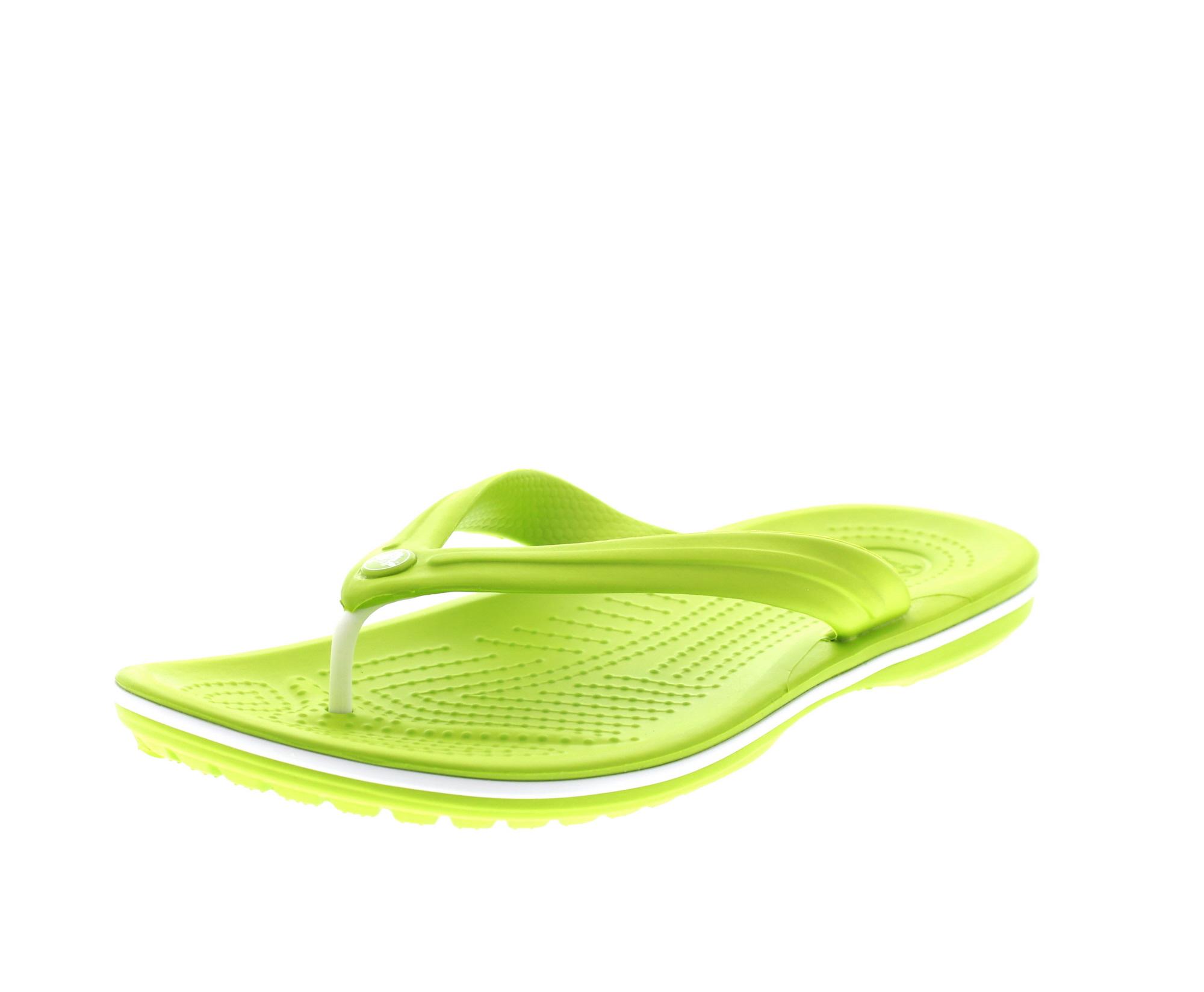 CROCS Schuhe - Zehentrenner CROCBAND FLIP - volt green0-6599