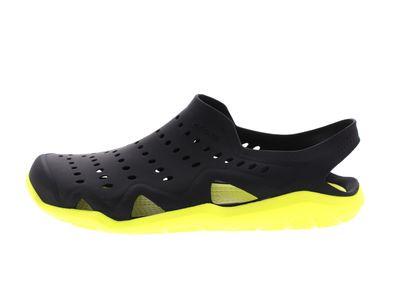 CROCS Schuhe SWIFTWATER WAVE - black tennis ball green preview 2