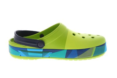 CROCS Clogs reduziert CROCBAND PRISMATIC CLOG volt green preview 4