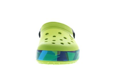 CROCS Clogs reduziert CROCBAND PRISMATIC CLOG volt green preview 3